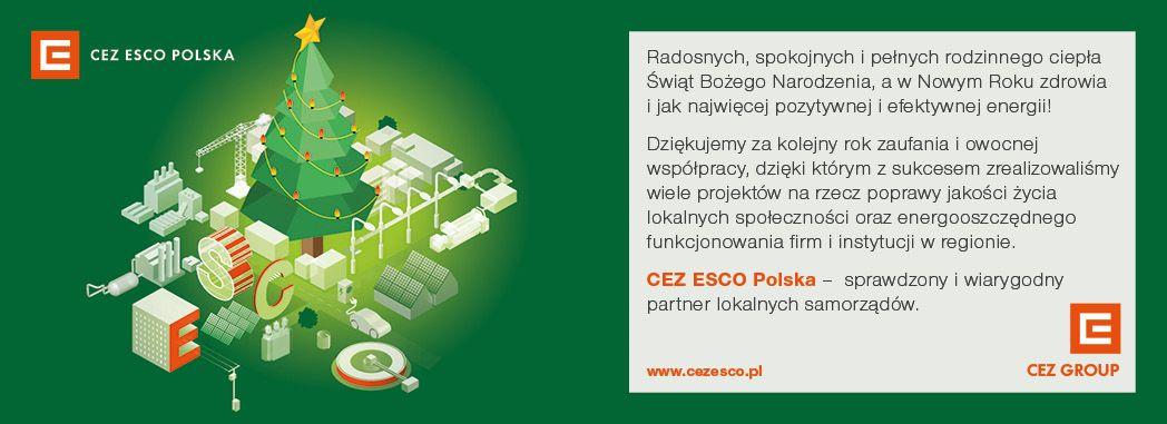 CEZ ESCO Polska życzy Wesołych Świąt