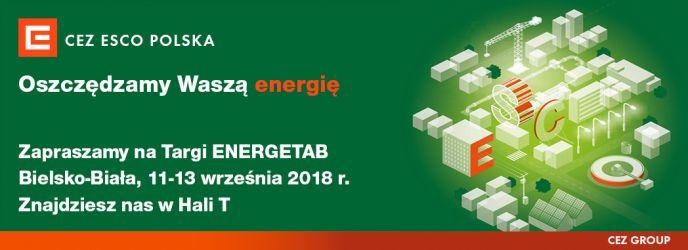 CEZ ESCO Polska oraz OEM Energy na targach ENERGETAB 2018