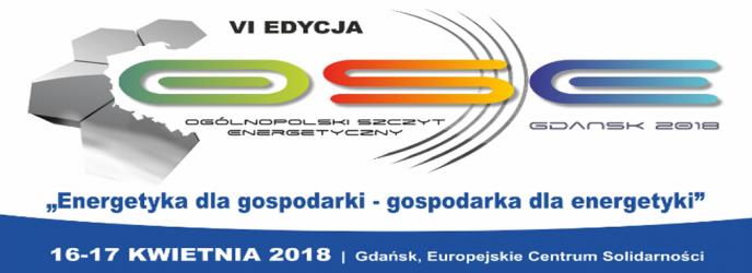 VI edycja Ogólnopolskiego Szczytu Energetycznego OSE GDAŃSK 2018