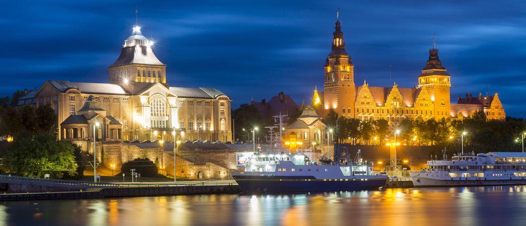 Zintegowany system oświetlenia miejskiego w Szczecinie